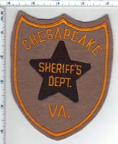 Chesapeake Sheriff