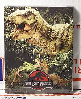 Jurassic Park Lost World Blu Ray Full Slip Steelbook  W Lenticular  Fac  66  801