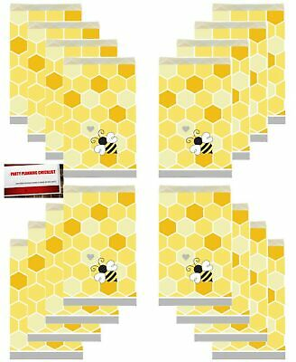 (20 Pack) Bumble Bee Baby Shower Honey Bees Party Paper Loot Treat Candy - Bumble Bee Candy