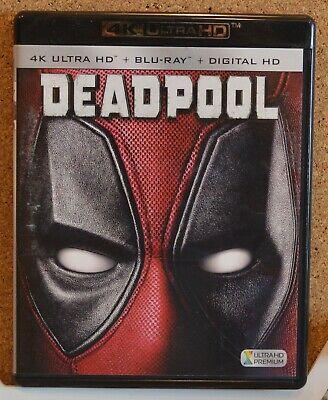 Deadpool (2016, 2-Disc Set, 4K Ultra HD Blu-ray/Blu-ray)