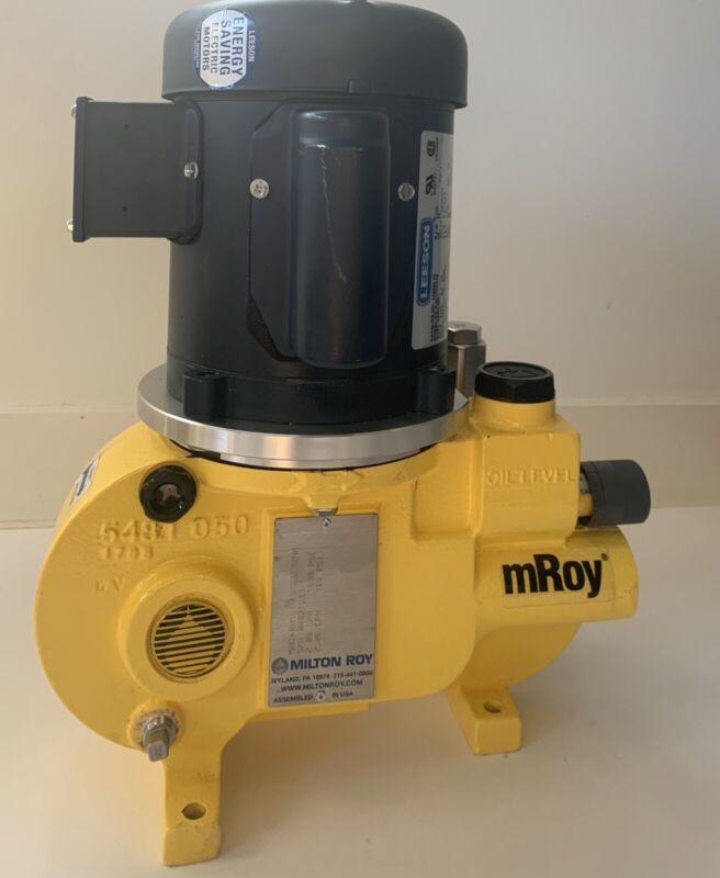 Milton Roy MRoy Metering Pump RH1515SRSESEM2NN New