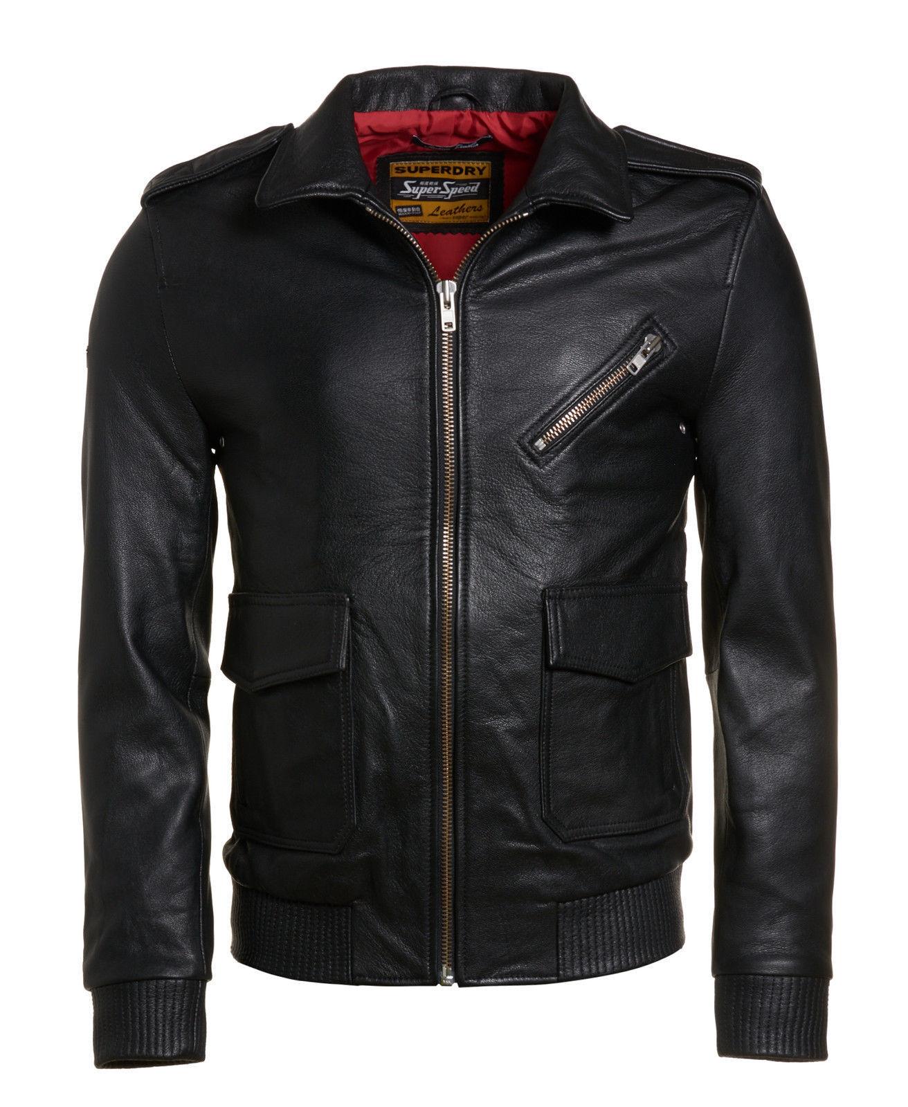 Jacken und Mäntel aus Leder für Herren günstig kaufen | eBay