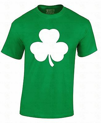 - Irish Clover T-shirt Pub Four Leaf Beer Drinking Drunk St Patrick's Day Shirt