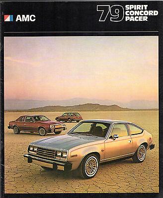 1979 AMC SPIRIT-CONCORD-PACER BROCHURE-SPIRIT-AMX-CONCORD-PACER-AMERICAN MOTORS