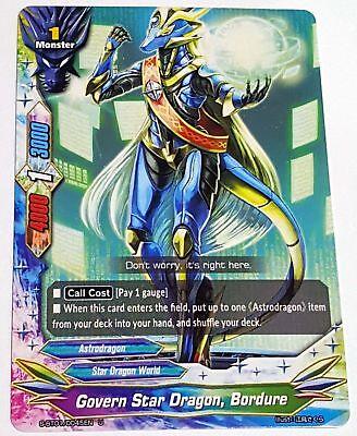 Star Dragon Lance R Black Clock Buddyfight 1x X-BT01A-CP02//0036EN