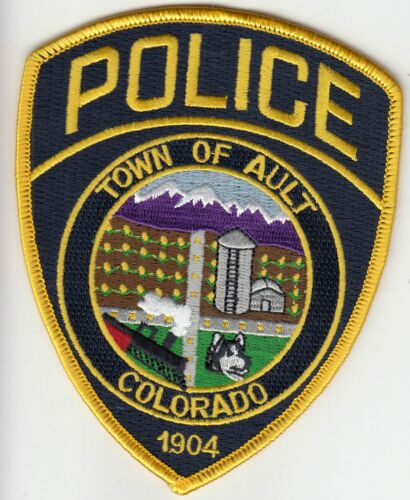 AULT (nv) COLORADO POLICE PATCH CO TRAIN NICE COLORS