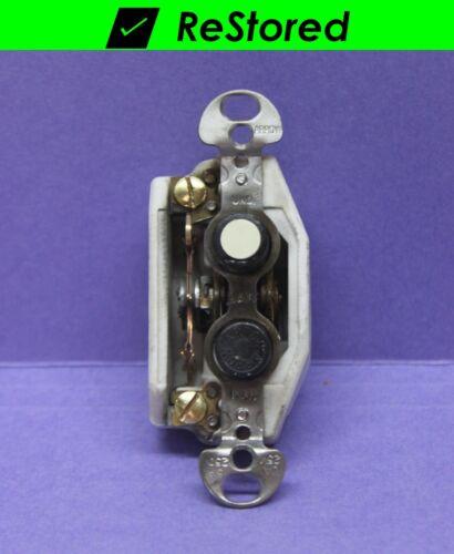 💡 Vintage Push Button Light Switch, Single-Pole ON/OFF Porcelain - Arrow - USA