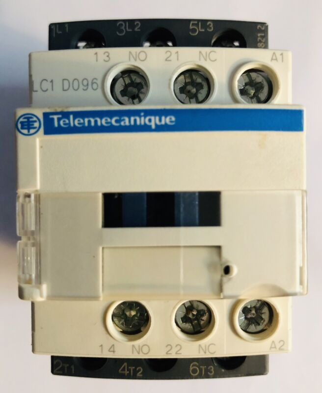 (1) Used Telemecanique  LC1 D096. -  SQUARE D - Contactor - A015850