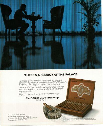 1996 DON DIEGO Playboy Cigars Vintage Ad