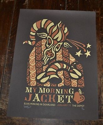 """The Morning Jacket Signed and Numbered Poster 01/11 19""""x25"""""""
