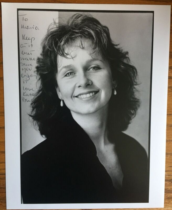 "Kate Burton Signed / Inscribed 8""X10"" Television Series Grey's Anatomy / Scandal"
