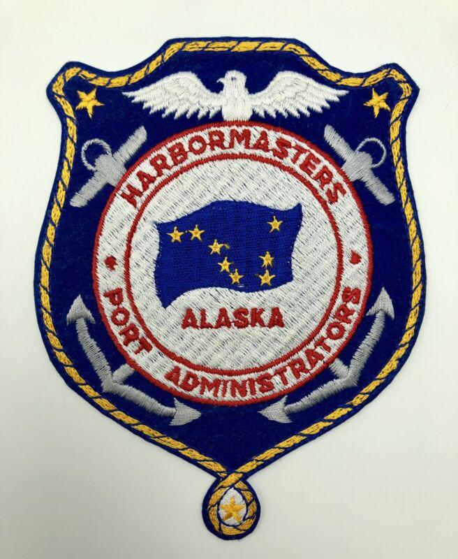 Alaska Harbormasters Port Administrators Patch