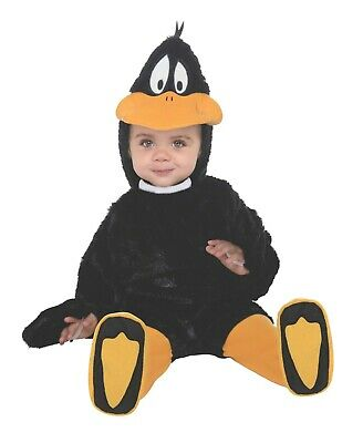 Infant Toddler Looney Tunes Baby Daffy Duck Romper - Daffy Duck Kostüm