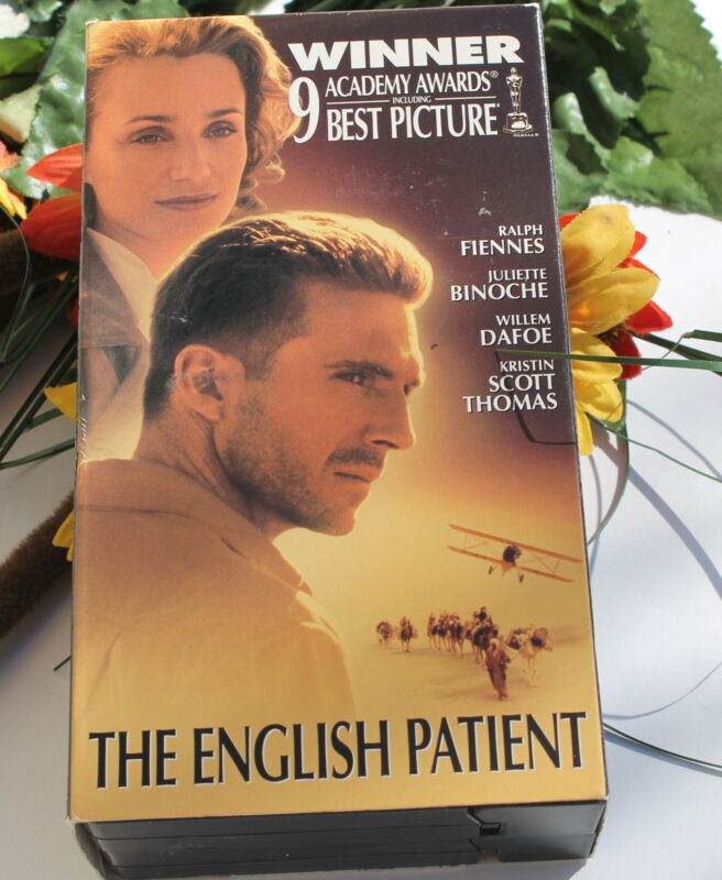 The English Patient 2 VHS Set