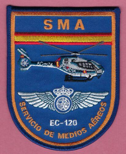SPAIN GUARDIA CIVIL SMA SERVICIO DE MEDIOS AEREOS EC-120 POLICE HELICOPTER PATCH