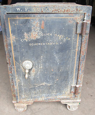 Antique Safe - W. F. Tiffany Sons - Reliable Safe Co.