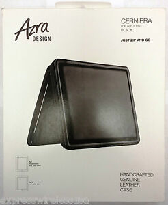 Sena Zipper Leather case for iPad 2, 3, & 4 Fits All 9.7