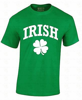 - Irish Clover T-shirt Pub Quatrefoil Beer Drinking Drunk St Patrick's Day Shirt