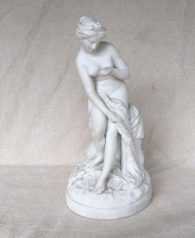 19th Century Neoclassical Greek Mythological Parian Figure of a  Naked Woman
