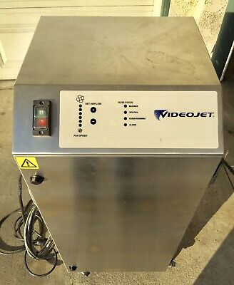 Videojet Bofa Ad Oracle 2018 Laser Fumes Extractor With New Filters