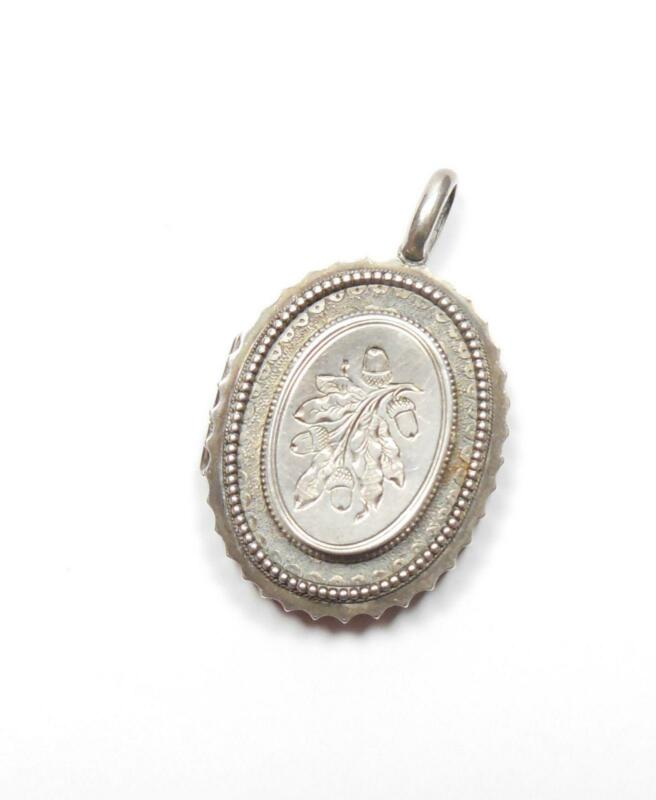 Antique Sterling Silver Locket | eBay
