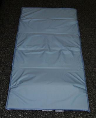 Kinderbett Reisebett Faltmatratze in Blau 60x120cm inkl. Tasche Matratzenauflage