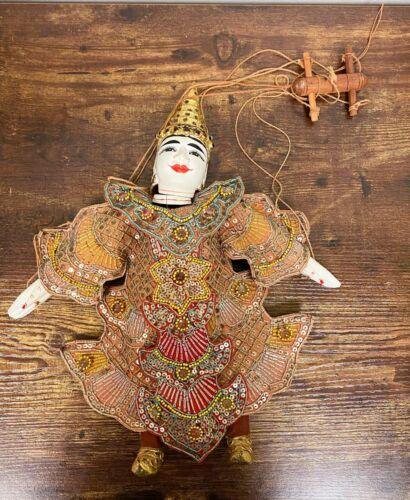 VTG Estate Burmese Thai Marionette Puppet Myanmar! 168