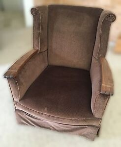 Wingback armchair, circa early- to mid- 20th C Bowen Mountain Hawkesbury Area Preview