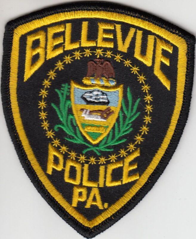 BELLEVUE PENNSYLVANIA PA POLICE SHOULDER PATCH