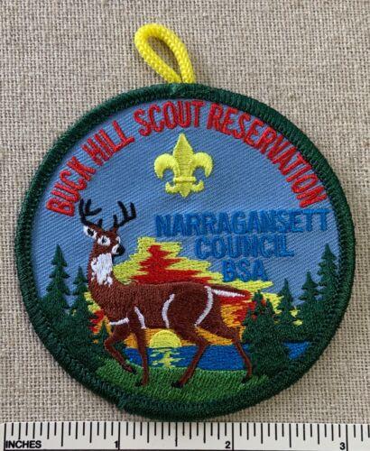 BUCK HILL SCOUT RESERVATION Boy Scout Camp PATCH Narragansett Council BSA