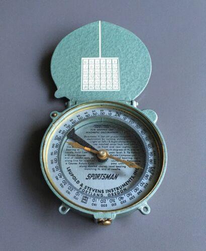 Vintage Sportsman Compass Leupold & Stevens Instrumentation Inc. Portland Oregon