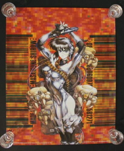2001 - 1000 Editions MASAMUNE SHIROW Spanish poster #9