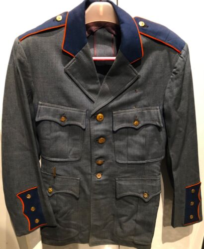 SUPER RARE~1939-40 NY WORLD'S FAIR POLICE UNIFORM JACKET~15 T&P BUTTONS~AWESOME!