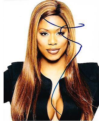 Laverne Cox Signed 8X10 Photo Orange Is The New Black Authentic Sophia Coa B