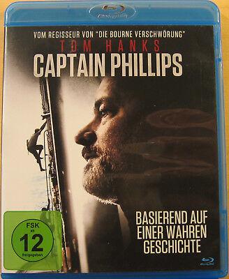 Blu-ray - Captain Phillips - Tom Hanks - neuwertig - kostenloser Versand (Drama Kostenlos)