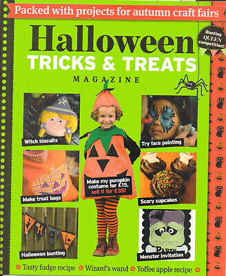 Halloween Trick & Treats Magazine Projects For Autumn Craft Fairs ()