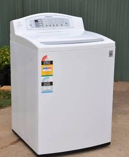 LG 10kg Topload washing machine, TurboDrum,10 years w'ty on motor