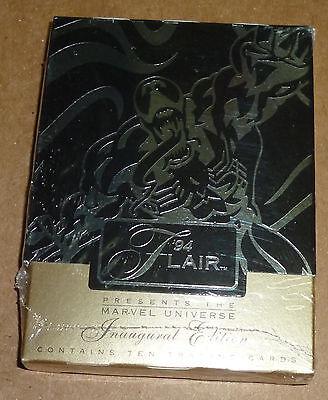 Flair 94 inaugural edition Marvel Universe, Venom, comic Trading cards