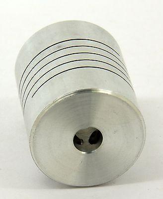 Flexible Parallel Cnc Coupling D25-l30-6.35 X10mm Coupler Aluminum 14inch 10mm