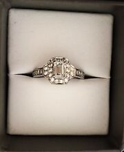 Stunning 18ct White Gold 1ct Diamond Ring Geelong Geelong City Preview