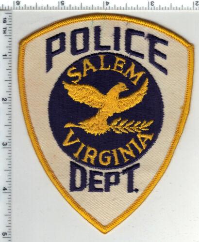 Salem Police (Virginia) 2nd Issue Shoulder Patch