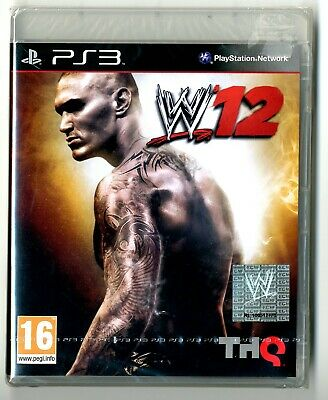 Gioco PS3 W 12 Wrestling Nuovo in Blister Sony PLAYSTATION 3 comprar usado  Enviando para Brazil