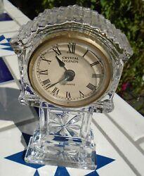Clock Crystal Glass Grandfather Mantel Crystal Legends Quartz Movement 1