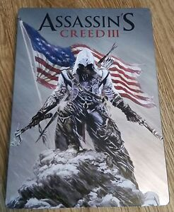 Assassin's Creed III Collectible Steel Metal Case