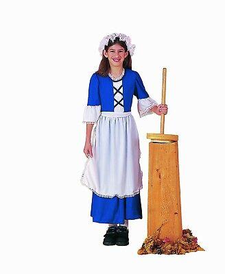 Forum Neuheiten Kolonial Dienstmädchen Mädchen Pilgrim Kinder Halloween Kostüm ()