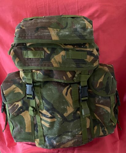 British Army  Military Patrol  Pack Rucksack DPM Green 30ltr