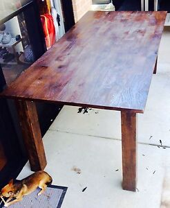 Timber dining table Doncaster Manningham Area Preview