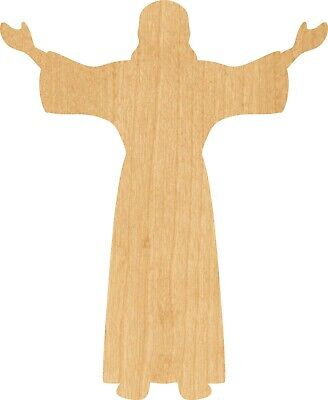 Jesus #0773 Laser Cut Out Wood Shape Craft Supply - Woodcraft - Christ Craft
