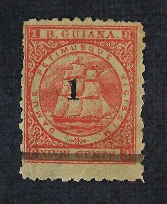 CKStamps: British Guiana Stamps Collection Scott#92 Mint H OG