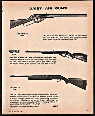 Advertisements - Ad Daisy Air Rifle
